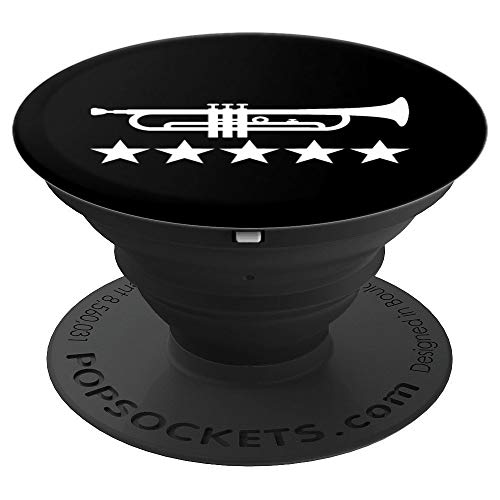 Trumpet stars PopSockets Grip and Stand for Phones and Tablets