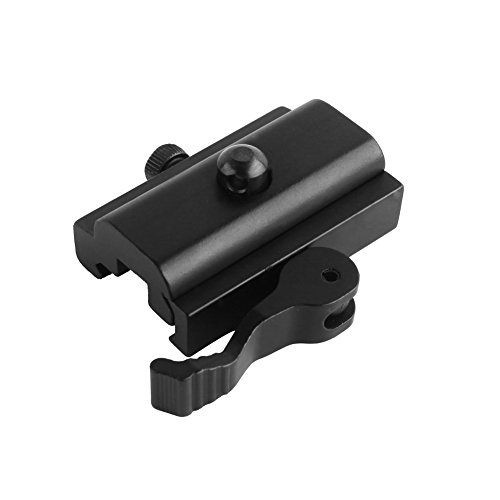 Beileshi Quick Detach Cam Lock QD Bipod Sling Adapter for Picatinny Weaver Rails ()