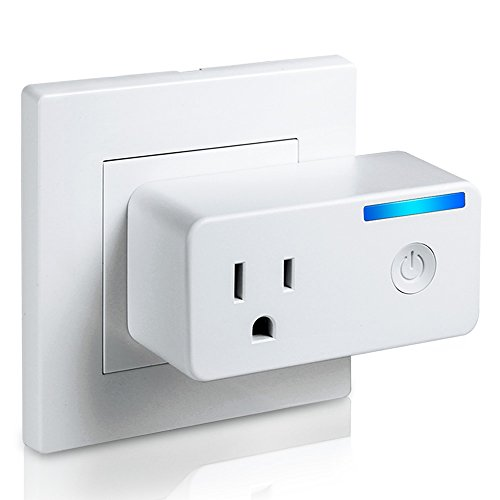 Bropang WiFi Smart Plug Outlet with Energy Monitoring, No Hub Required, Works with Amazon Alexa Echo and Google Assistant, High Electrical Load Up-to 16A 1700W, Wireless Outlet Wi-Fi Plug P2 (Air Monitoring)