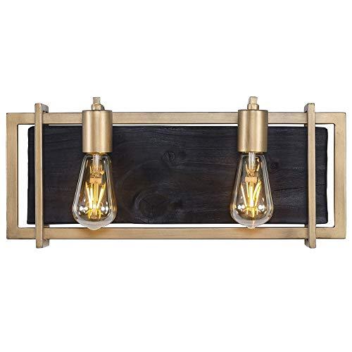 Varaluz 294B02RG Madeira 2-Light LED Bath Fixture - Rustic Gold