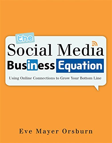 Facebook, Twitter, LinkedIn, and YouTube™ have changed the way consumers communicate today and businesses today must be a part of this social phenomenon or risk losing significant marketing opportunities. THE SOCIAL MEDIA BUSINESS EQUATION: USING ONL...