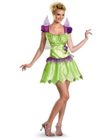 Disney Tinker Bell Rainbow Classic Adult Costume (Disney Couples Costume)