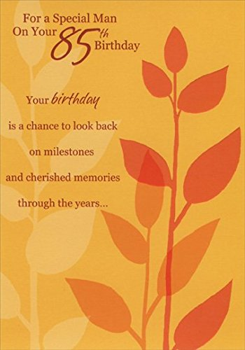 85th Birthday Greeting Card:  Special Man Design