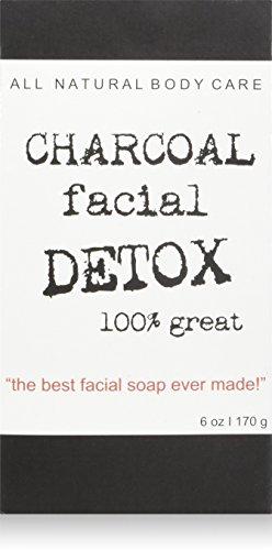 Destiny Boutique Charcoal Facial Soap DETOX, Pack of 2
