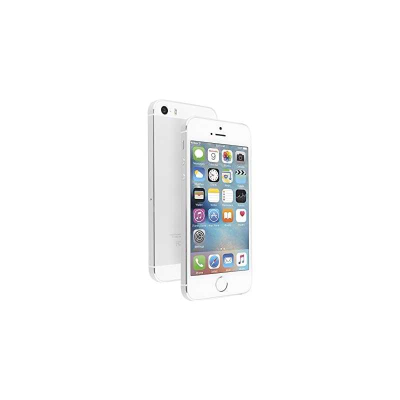 Apple iPhone 5S, AT&T, 16GB - Silver (Re