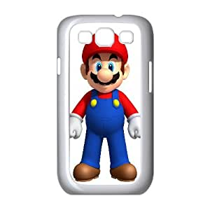 Mario Game Samsung Galaxy S3 9 Cell Phone Case White yyfabc_994907