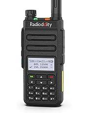 Radioddity GD-77 DMR digitale radio, dubbele band, dubbel tijdslot, digitaal/analoge amateurradio, bereik tot 10 km, 1024 kanalen, compatibel met motortrbo, gratis programmeerkabel