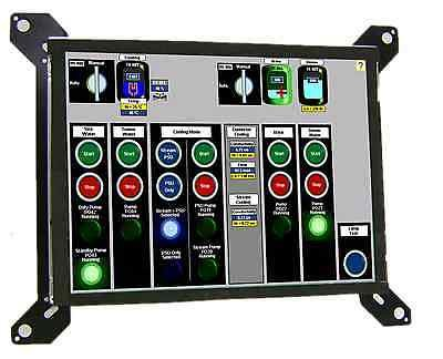 Cincinnati Milacron 850 AND 950 LCD upgrade - Replaces 14'' CRT EASY TO INSTALL by Monitech