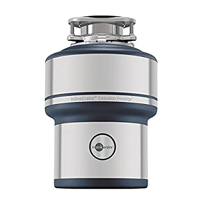 InSinkErator Evolution Prestige 1-HP Noise Insulated Garbage Disposal