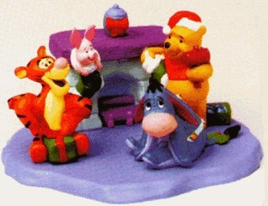Piglet Hallmark Merry Miniatures Christmas At Pooh's House