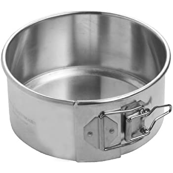Focus Foodservice Commercial Bakeware Aluminum Springform Pan, 6-Inch