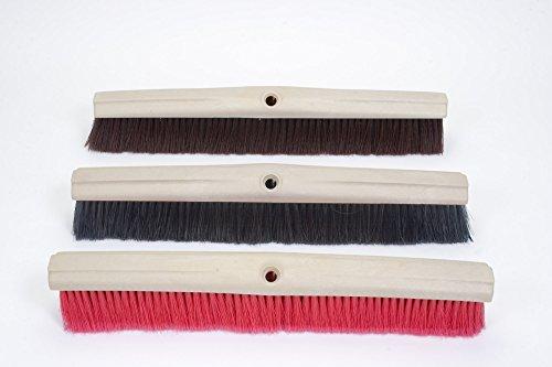 24'' Push Broom with Hard Bristles (Box of 3) by Briarwood 100% Made in USA (Image #1)