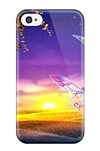 Premium Lcbffnh6917DyzEz Case With Scratch-resistant/ Sunset Case Cover For Iphone 4/4s by lolosakes