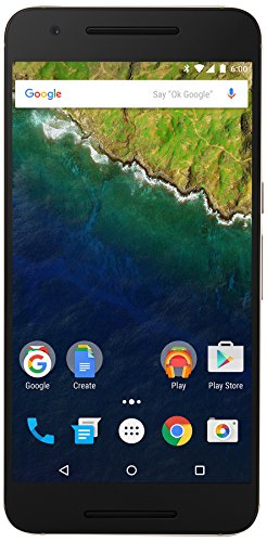 Huawei Nexus 6P  unlocked smartphone, 32GB Gold (US Warranty)