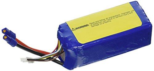E-flite 2200mAh 6S 22.2V 30C LiPo 13AWG EC3 Battery
