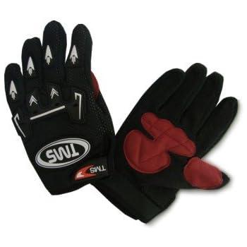 TMS Youth Kid Motocross Dirt Bike ATV Off-road Gloves Black