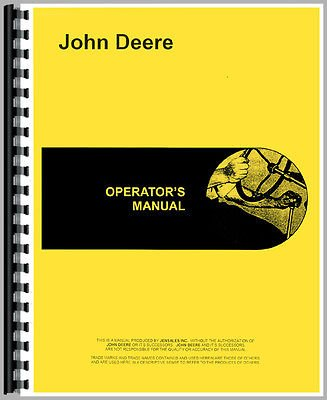 New John Deere 71 Attachment Operator's Manual (#71 Corn Sheller)