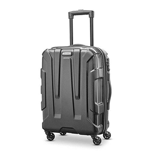 Samsonite Centric Hardside 20 Carry-On Luggage, Black Samsonite Aluminum Locks
