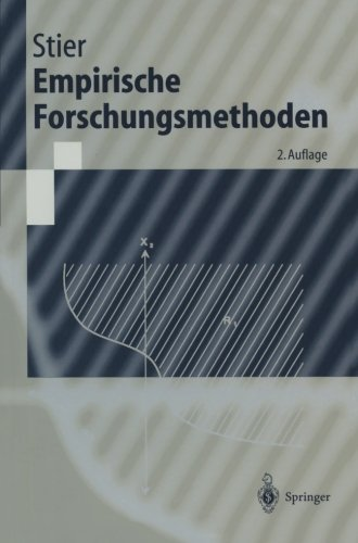Empirische Forschungsmethoden (Springer-Lehrbuch) (German Edition) by Springer