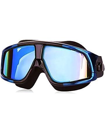 85d703f3 GANZTON Swimming Goggles Large Frame Swim Goggles Anti-Fog UV Protection  Big Frame 360°