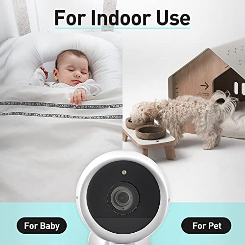 Security Camera Outdoor, Color Night Vision 163°1080P Wireless Camera for Home Security, Rechargeable Battery WiFi Security Camera with Click to Call, Motion Detection, AI Human Recognition