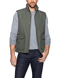 Men's Trout Run Flannel Lined Vest