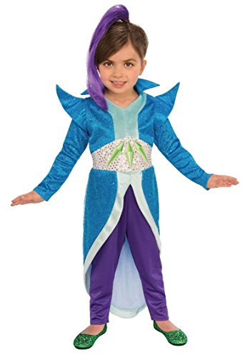 Rubie's Costume Shimmer and Shine Child's Zeta The Sorceress Costume, Multicolor, X-Small