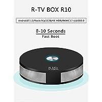 R10 Rockchip RK3328 4GB RAM 32GB ROM Quad-Core 64-Bit Android 7.1.2 USB 3.0 Dual WiFi AC 2T2R BT4.1 4K FHD UHD TV Box Smart Media Player
