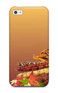 New Snap-on Bareetttt Skin Case Cover Compatible With Iphone 5c- Thanksgivings