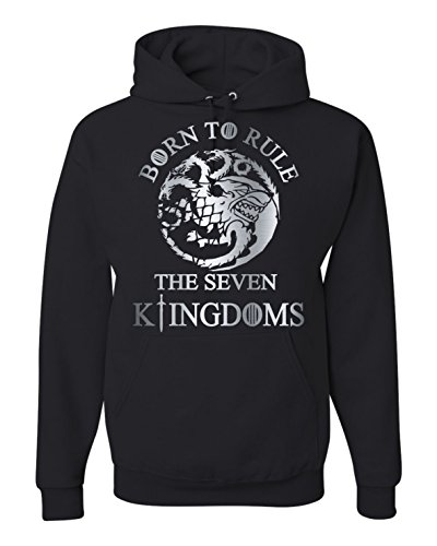 Jon Snow Born to Rule Hoodie Unisex Hooded