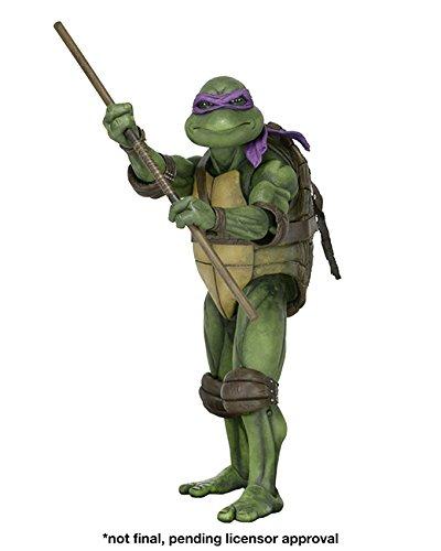 NECA TMNT Movie: Donatello 1/4th Scale Action Figure (Ninja Turtles Action Figures Neca)