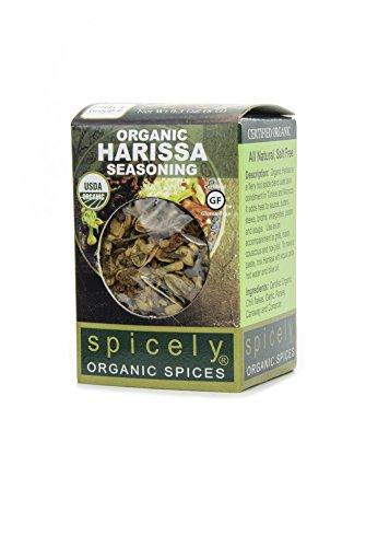 Spicely Organic Seasoning, Harissa Salt Free - Compact