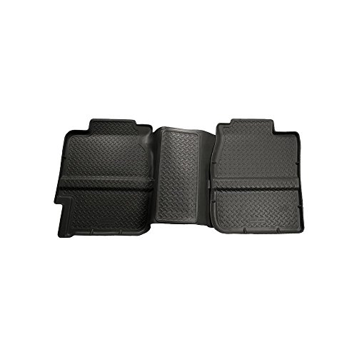Husky Liners 99-06 Chevy Silverado/GMC Sierra (All Ext. Cab) Classic Style 2nd Row Black Floor Liner (61361)