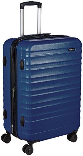 """AmazonBasics Hardside Luggage Spinner - 24"""", Navy Blue"""