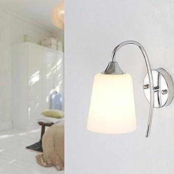 Schlafzimmer Bett Und Wand Licht Glas - Wand - Lampe - Wall Lamp ...