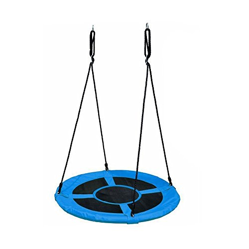 HYCLAT Durable Strong Blue 40' Saucer Tree Swing Outdoor and Indoor Activity