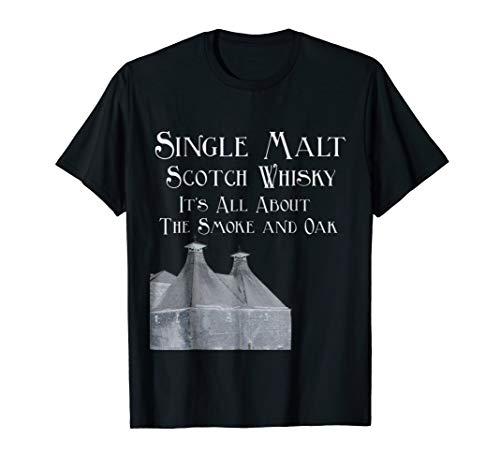 (Single Malt Whiskey T-Shirt Gift For Men)