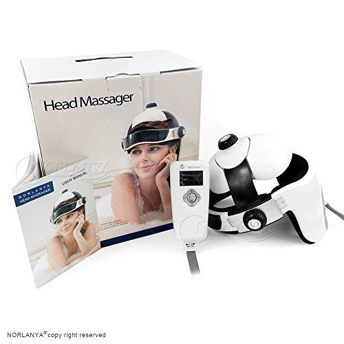 best head massager for migraine NORLANYA