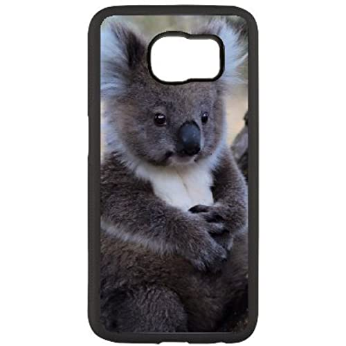 Exquisite Sleepy Koala image from creative fashion phone shell custom mode, in order to better protect your phone trend( Black samsung galaxy s7 edge ) Sales