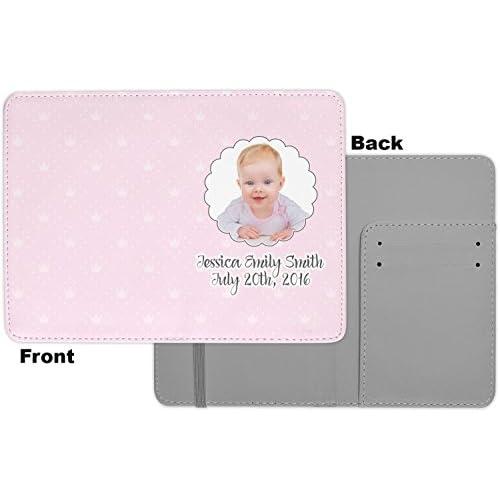 Baby Girl Photo Passport Holder (Personalized)
