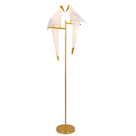 Amazon.com: IJ INJUICY Modern Bird LED PPC Art Floor Lamp ...