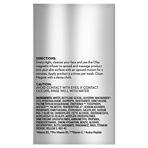 Face Mask by Olay Magnemasks Infusion - Korean Skin Care Inspired Deep Hydration, Rejuvenating Face Mask for Fine Lines & Sagging Skin - Starter Kit