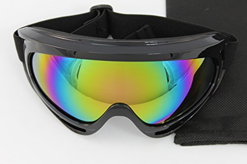 Motorcycle Cycling ATV Dirt Bike OFF Road Racing Snowshoe SKI Goggles (Bike Racing Shoe)