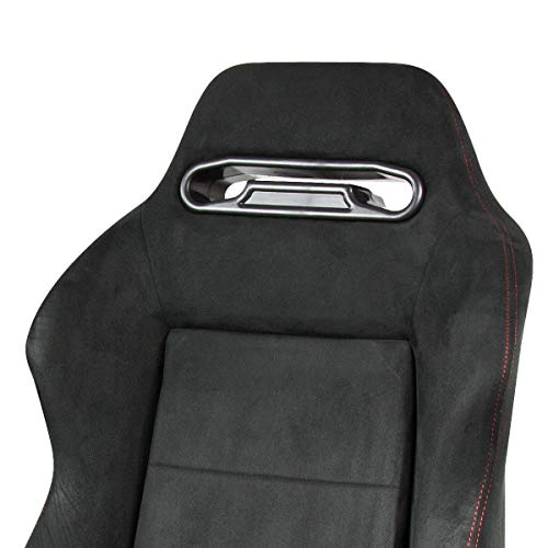 Buy blue suede racing seats