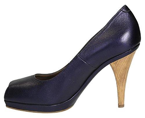 open pumps Marni toe Purple leather 00C85 metallic LA196 Model in PUMSE16G10 number Violet EqddW5Srw