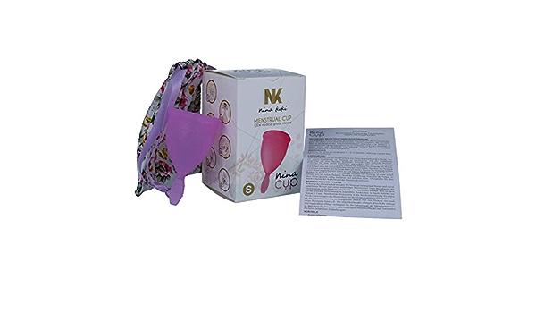 Nina Kikí Copa Menstrual, Talla S, Lila - 100 gr: Amazon.es ...