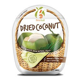 Benefruit Dried Coconut Healthy Snack 285 g. Thailand Product