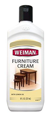 Weiman Furniture Cream with Lemon Oil, 8 fl oz. (Furniture Cream Polish compare prices)