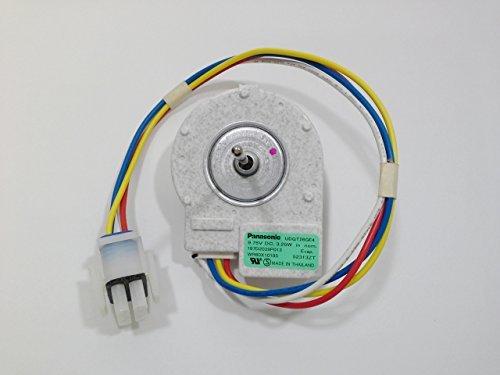 Housing Motor Fan (GE WR60X10185 Refrigerator Freezer DC Evaporator Fan Motor W/ fan + housing)