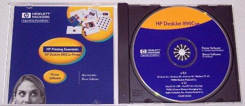 Price comparison product image HP Deskjet 895Cse Printer CD-Rom